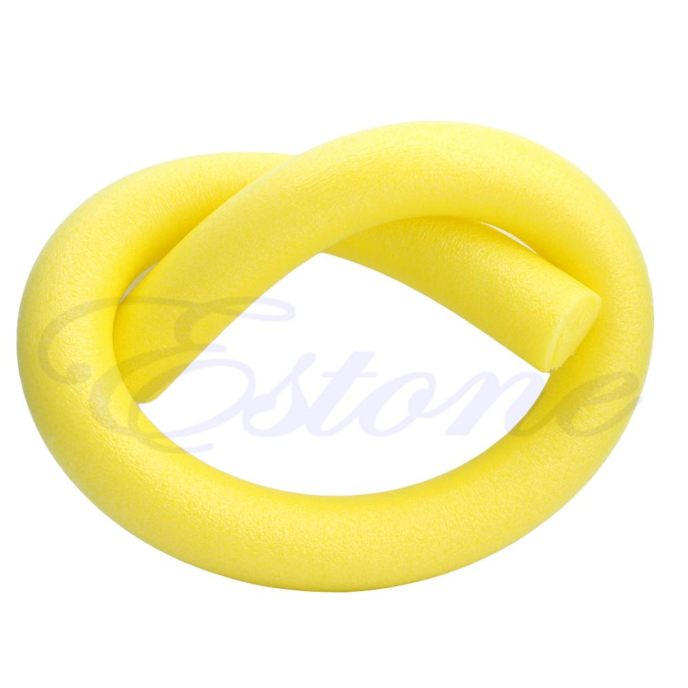 Flexible Rehabilitation Learn Swimming Pool Noodle Water Float Aid Woggle Swim