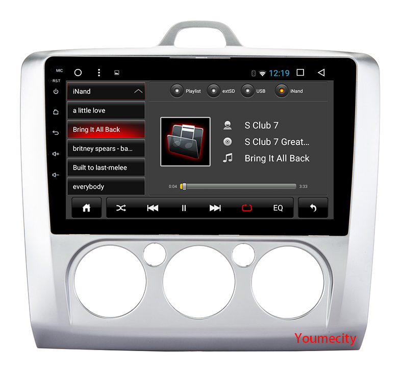 Octa Core android 7.1 Car dvd Video GPS Player