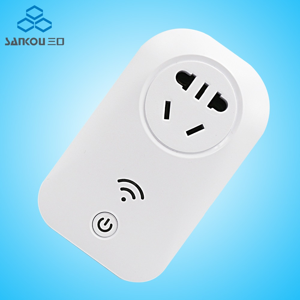 Free Shipping Smart Home CN Electricity Socket Remote 10A Power Outlet Switch Plug Smart Wall Remote Sockets hot sale remote control wireless 3 sockets mobile phone gsm sim smart socket switch free shipping
