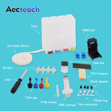 Aecteach Continuous Ink Ciss Tank for Canon PG 40 CL 41 Cartridge MP140 MP150 MP160 MP180