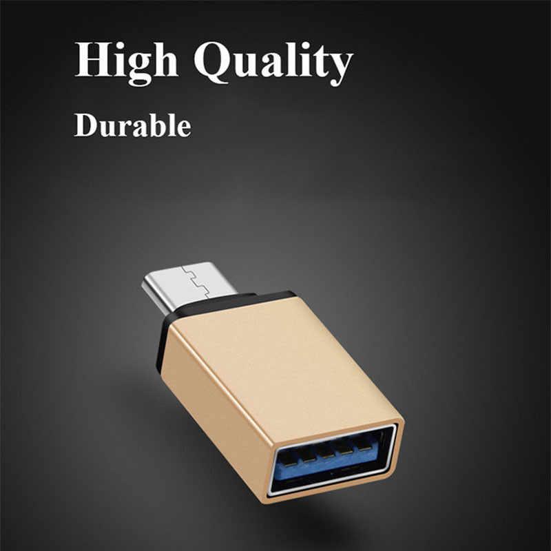 Catxaa USB 3.0 Loại C Cáp OTG Adapter Dành Cho Huawei Xiaomi 5 4C MacBook Nexus 6 P Loại-C USB-C OTG Chuyển Đổi Cho Tất Cả Các Loại-C Điện Thoại