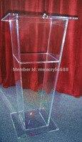 Freies Verschiffen Schöne Günstige Klar Abnehmbare Acryl Podium Rednerpult Kanzel