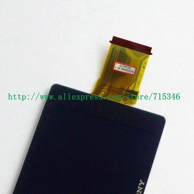 מסך LCD לתצוגה חדש עבור SONY DSC HX200V HX200V A77 A65 A57 HX200 חלק תיקון מצלמה דיגיטלי עם תאורה אחורית והגנה זכוכית