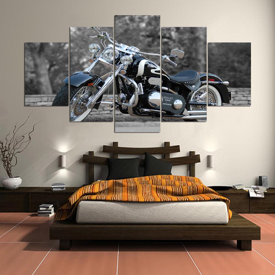 Harley Davidson Wall Decor online get cheap pictures harley davidson -aliexpress