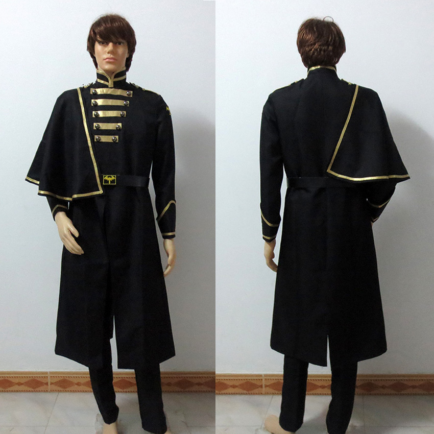 Masked Rider Kamen Rider Ghost Necrom Syrians Black Halloween Uniform Cosplay Costume Tailor made Any Size