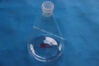 1000ml Conical Flask Erlenmeyer Flask With 24 29 Joint Ground Mouth