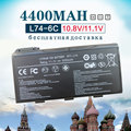 6 Cell Аккумулятор Для Ноутбука MSI BTY-L74 BTY-L75 A5000 A6000 A6203 A6205 A7200 CR600 CR610 CR610X CR620 CR630 CR700 CX600