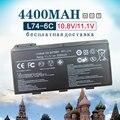6 células bateria do portátil para msi bty-l74 bty-l75 a5000 a6000 a6203 a6205 a7200 cr600 cr610 cr630 cr610x cr620 cr700 cx600