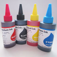 4 Bottles 100ML PGI1400 PGI1400XL New Printer Dye Ink For Canon MAXIFY MB2340 MB2040 BK M
