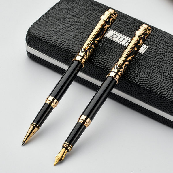 Superieur Fashion Gentleman Duke Fountain Pen/Roller Ball Pen Pollock Series Business  School Office Stationery Luxury Lovers Pens In Fountain Pens From Office ...