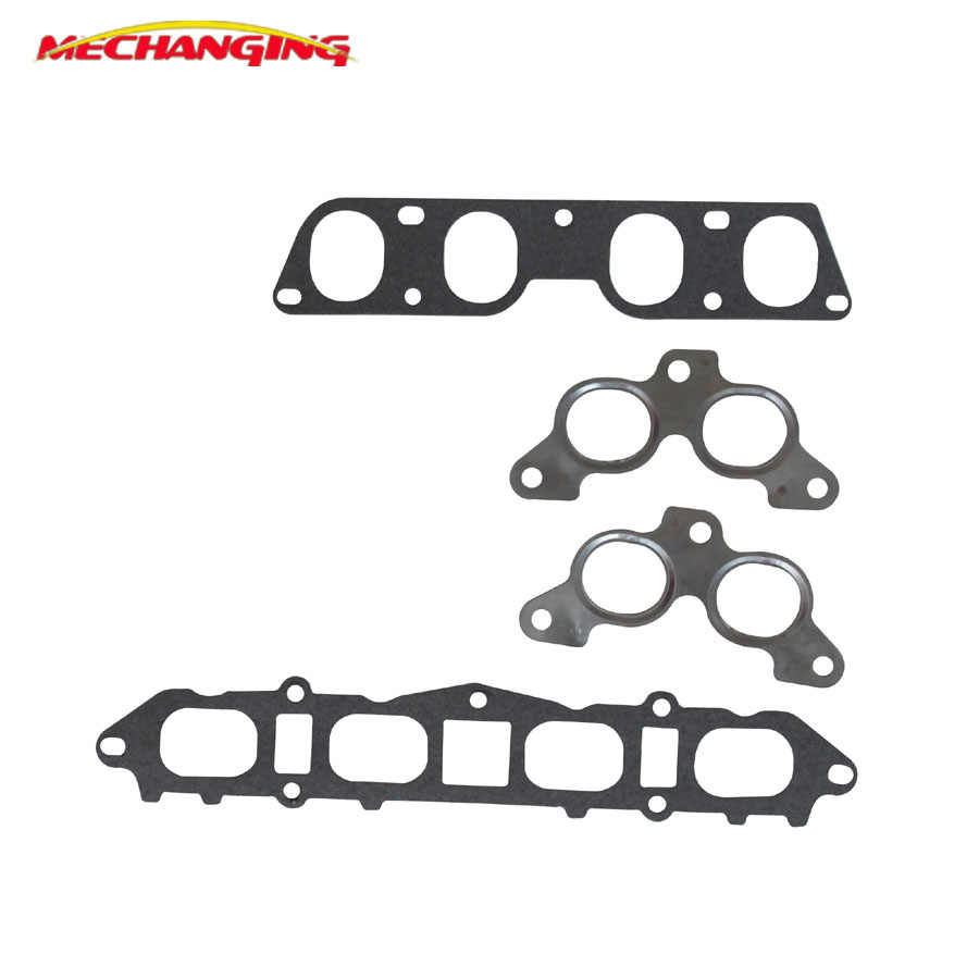3SGE For TOYOTA MR2 CELICA 16V Intake Exhaust Manifold gasket Seal Gasket  Engine Gasket Parts 17177-74060 17171-88381