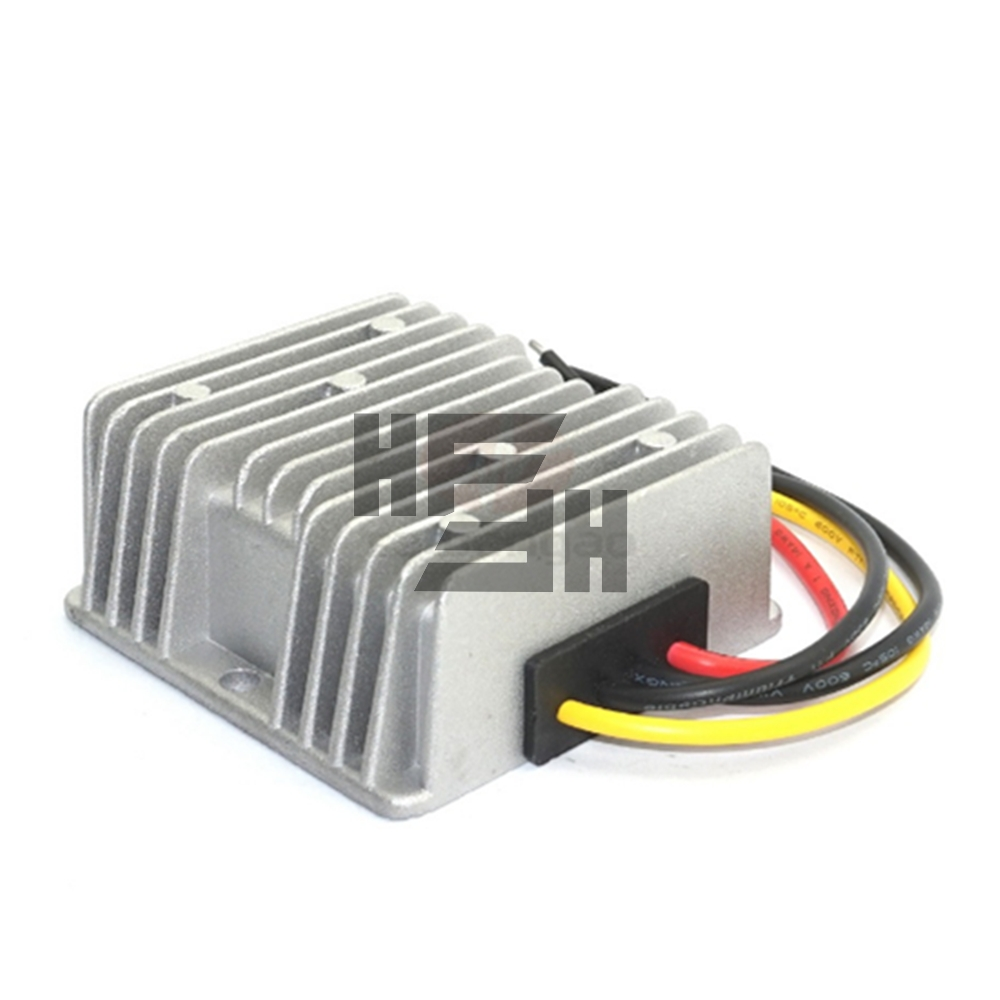 Car laptop power supply 12V to 19V 8A boost power converter DC-DC boost module waterproof