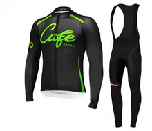 Café Hombres ciclismo jersey ropa Ciclismo ropa bicicleta ciclismo bicicleta apretada larga Jersey Ciclismo Ropa ventas Calientes