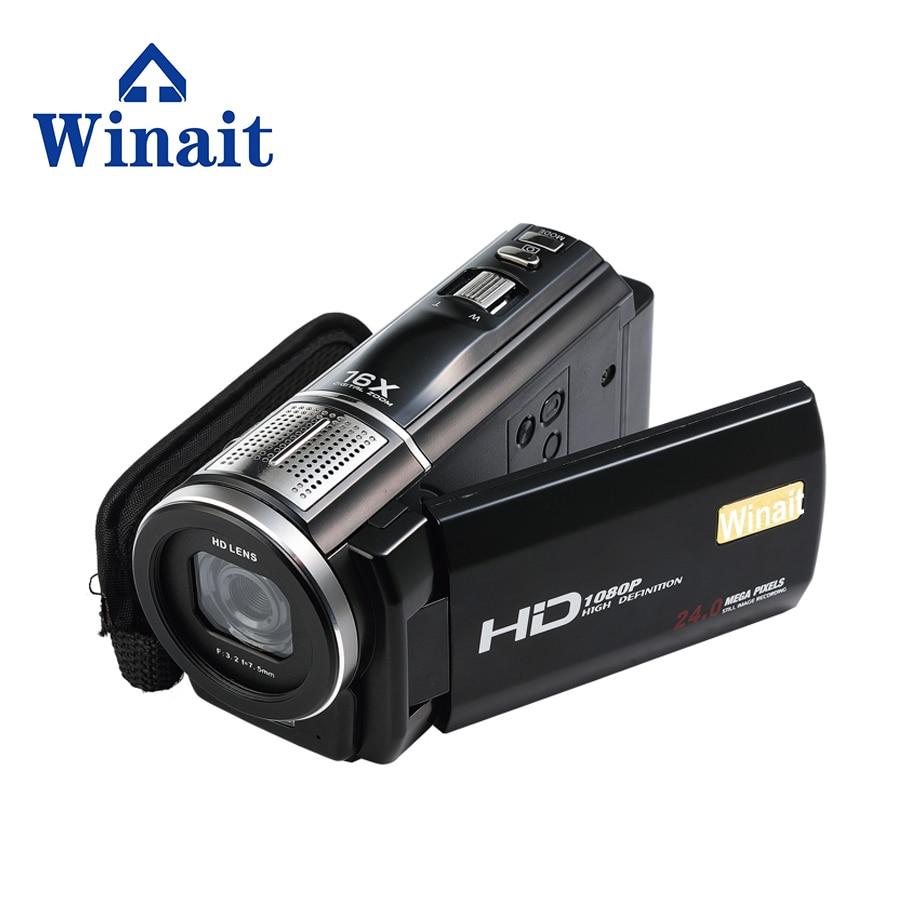 все цены на 2017 Free Shipping 64GB Max 24MP 16x digital zoom video camera Professional Camcorder HDV-F5 Vedio  Camera with 3.0
