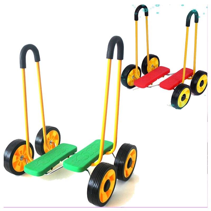 Enfants tapis roulant entraînement bébé marcheur vélo Balance voiture enfant apprentissage de la marche tapis roulant bambin formation marcheurs