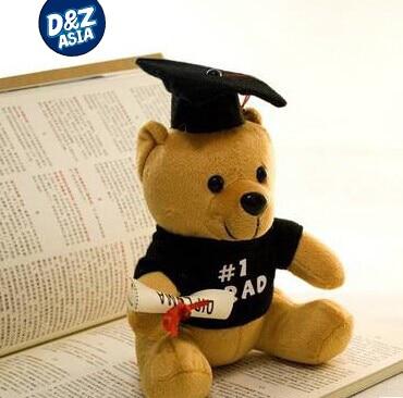 Urso de pelúcia médico 1 pcs quente 20 cm Urso Dr aprender a ler Urso boneca de brinquedo de pelúcia presentes da graduação