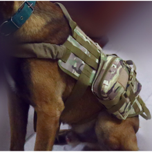 New Outdoor Army Tactical Dog Lost Clothes Suit Vest with Accessory Kit Police Dogs Pet 4 Color