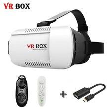 Картонный vrbox годы реальности виртуальной google vr гарнитура otg крепление смартфон