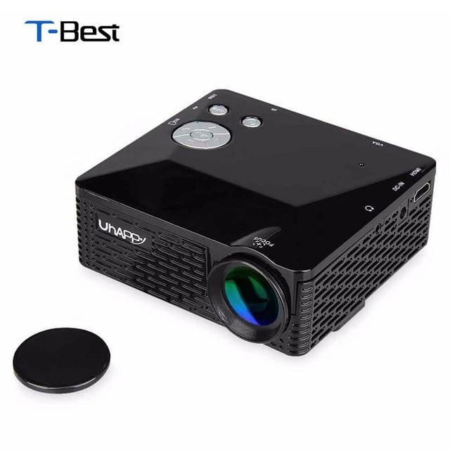 4b893dbd8 Mini LED Projector BL-18 Portable Pico Projektor 60Lumen Full HD  Projectores AV/VGA/SD/USB/HDMI Video Proyector Beamer Projector