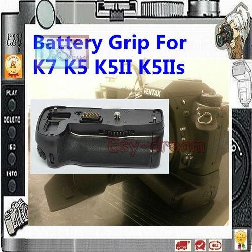 Support de prise en main de poignée d'alimentation de batterie verticale remplacer D-BG4 BG4 pour Pentax K7 K5 K5ii K-5IIs appareil photo reflex numérique PM124