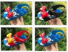 Melissa Girls Sandals 2019 New Summer Snow White Pattern Shoes Jelly Shoe Sandals Girl Non-slip Kids Sandal Toddler цена