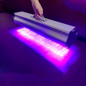 Image 5 - 400W 800W 1200W LED portable UV colloid curing lamp Print head inkjet photo printer curing 365nm 395nm 405nm cob UV led lamp