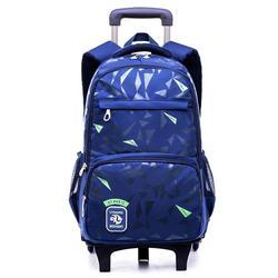 Бренд дети могут подняться по лестнице багаж школьная сумка на колесах студенческий ранец Повседневный чемодан 5-10 лет Детский рюкзак для п...
