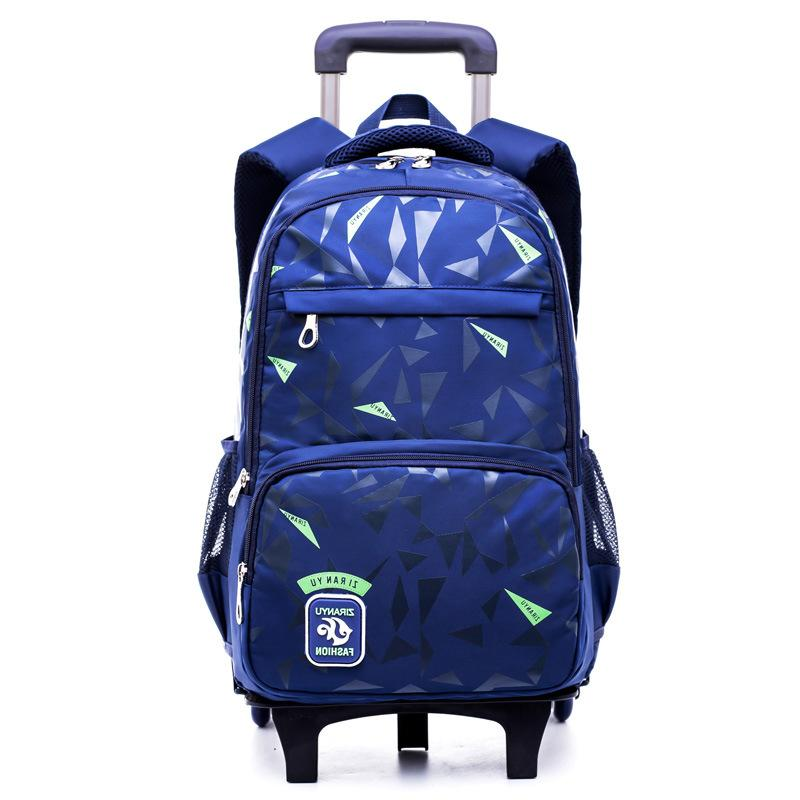 Brand kids can climb stairs luggage school bag On wheels students knapsack Casual suitcase 5-10 years Children travel backpack