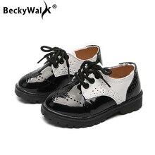Großhandel black uniform shoes for boys Gallery Billig