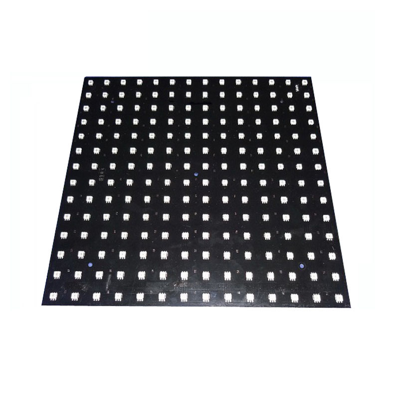 цена на 5X Wholesale P20 SK9822 fiber board plate RGB full color 196 pixels LED screen display express free shipping