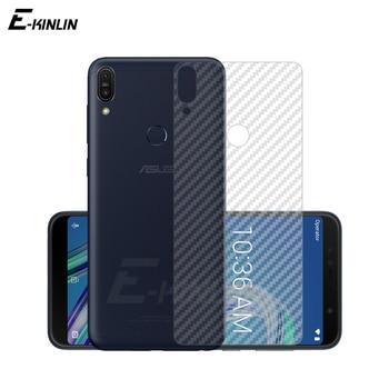 Cubierta Protector de pantalla para Asus ZenFone Max Plus Pro M1 M2 ZB633KL ZB570TL ZB602KL ZB631KL de fibra de carbono película no de vidrio