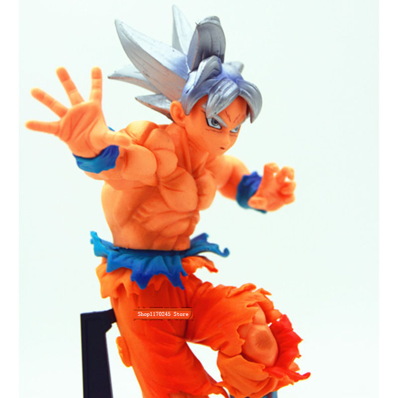 Аниме Драконий жемчуг Z Migatte без Gokui Сон Гоку ПВХ фигурку Коллекционная модель игрушки для мальчика подарок