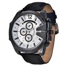 цены 2016 Luxury Brand XINEW Military Watch Men Quartz Analog Clock Leather Strap Clock Man Sports Watches Army Relogios Masculino