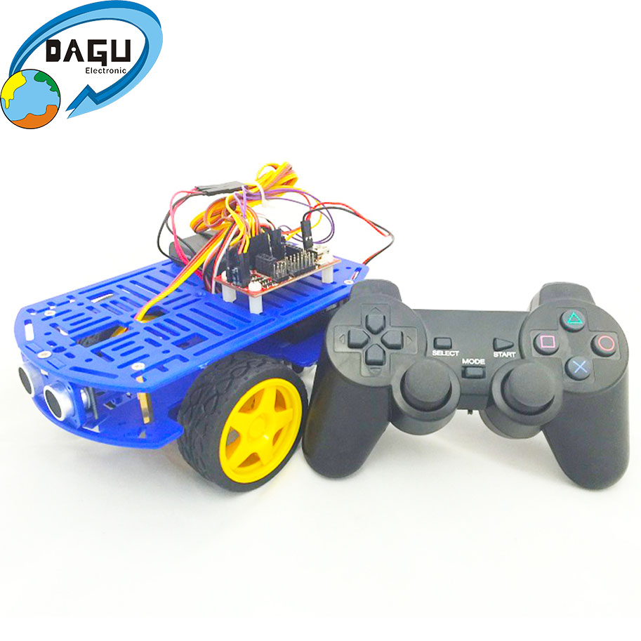 Programmable Toys Arduino Car Platform Robot Chassis With Ps2 Remote