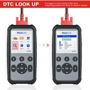 Image 2 - Autel Maxilink ML609P Auto Diagnostic Tool Code Reader OBD2 Code Scan Tool Uitzicht Freeze Frame Data Diagnostic Tool Auto Scanner