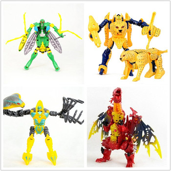lensple transformation ko mp41 beast wars grimlock dinobot robots collection action figure Lensple Transformation Beast Wars mpp36 mp36 Tyrannosaurus Rex Cheetor Waspinator Scorponok Figure Toy For Gift