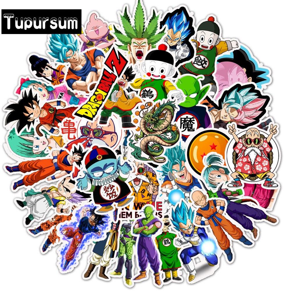 50Pcs//lot Anime Dragon Ball Z Stickers