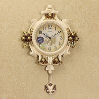 Modern fashionable sitting room wall clock bedroom wall clock pendulum clock wall clock