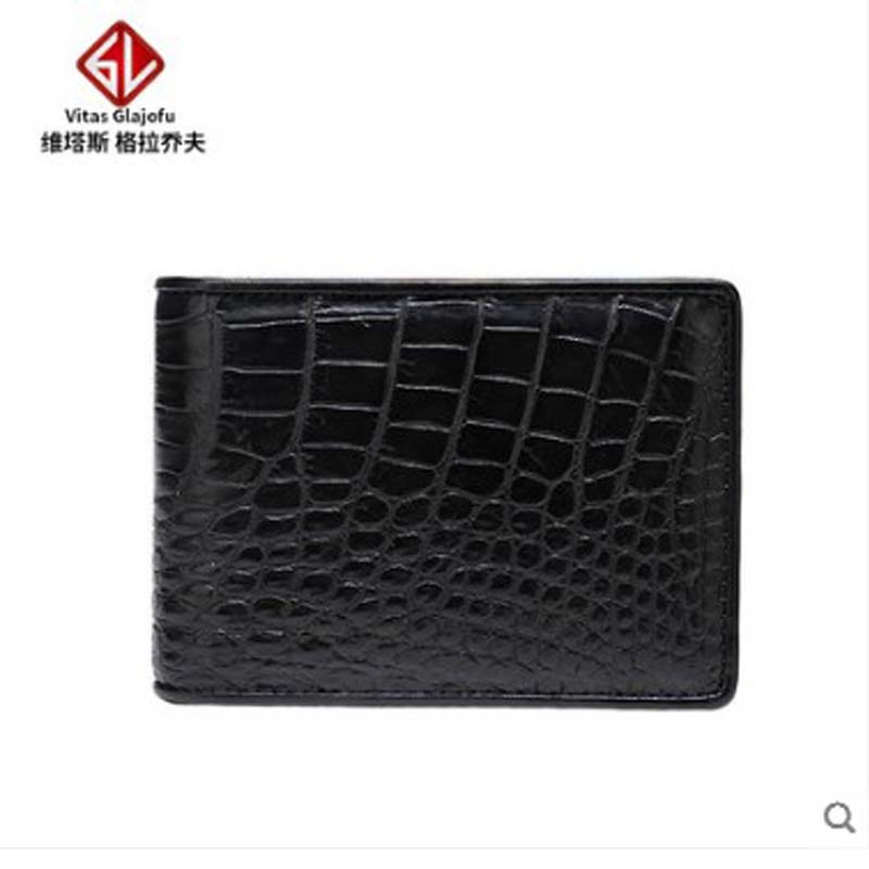 weitasi crocodile belly  Wallet young men short wallet complete without splicing manufacturers direct brownweitasi crocodile belly  Wallet young men short wallet complete without splicing manufacturers direct brown