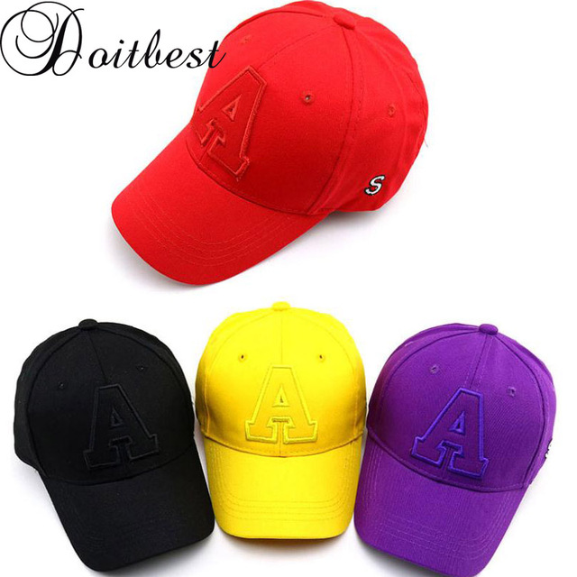 US $4 05 17% OFF|Aliexpress com : Buy Doitbest 2 to 8 Years 2019 Child  Baseball Cap Hip Hop Spring S Letters kids Sun Hat solid Boys Girls Caps