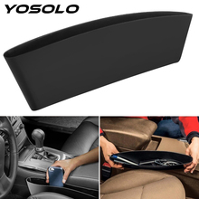 YOSOLO Car Seat Crevice Storage Bag Auto Phone Holder Bag Pouch Gap Keys Cigarette Wallet Car Organizer Car Styling Accessory