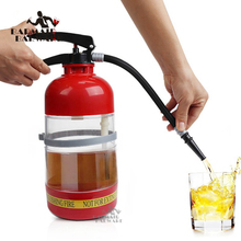 1.7 L Thirst Extinguisher Red Fire Novelty Drink Dispenser Cocktail Shaker Bar Tools the thirst