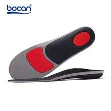 BOCAN plantillas ortopédicas planas para pie, soporte de arco, plantillas con absorción de impacto, 6010