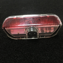 2pcs Car Door Light Car Projector Light Logo Light For VW R Logo Passat B6 B7 CC Golf 5 7 Jetta MK5 MK6 MK7 LED Car Warning Lamp стоимость