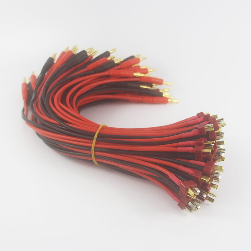 Charging Cable DEANS ULTRA T Plug Male to 4mm Bullet Banana Charger Charging