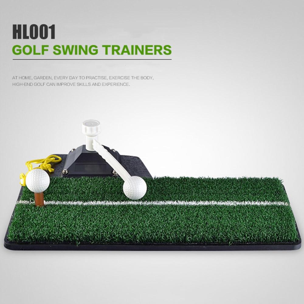 Crestgolf Colf Mats Golf Swing Trainer Set Golf Green