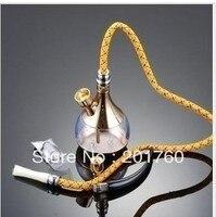 Waterpijp water pijp tabak dual waterpijp pot goud en zilver gratis verzending HD-805