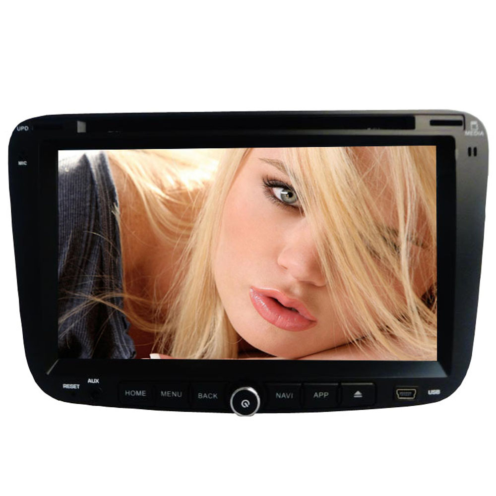 ROM 8G 2 din font b Android b font Car dvd for GEELY Emgrand EC7 2012