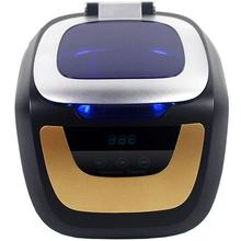 Household Digital Ultrasonic Cleaner Bath Gold Silver Cd Jewelry Denture Watch Shaver Head Ultrasound Timer Tank 0.75L 50W-Eu portable ultrasonic cleaner 1 4l bath baby bottle vegetable ring coins glasses shaver watch electronic parts ultrasound washer