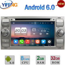 Android 6.0 32GB ROM Octa Core 4G 4GB RAM Car DVD Radio Player GPS For Ford Focus Fusion C-MAX Mondeo Connect Transit Kuga S-MAX